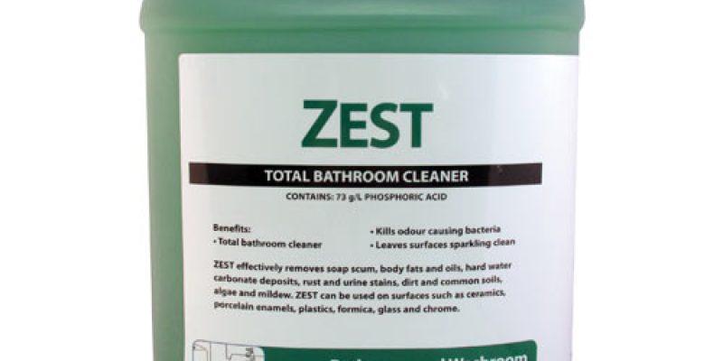 Zest Bathroom Cleaner SDS